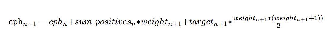 Original equation from source code