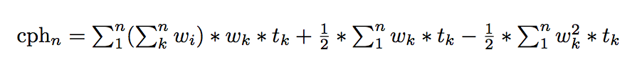 Equation that can be computed in parallel