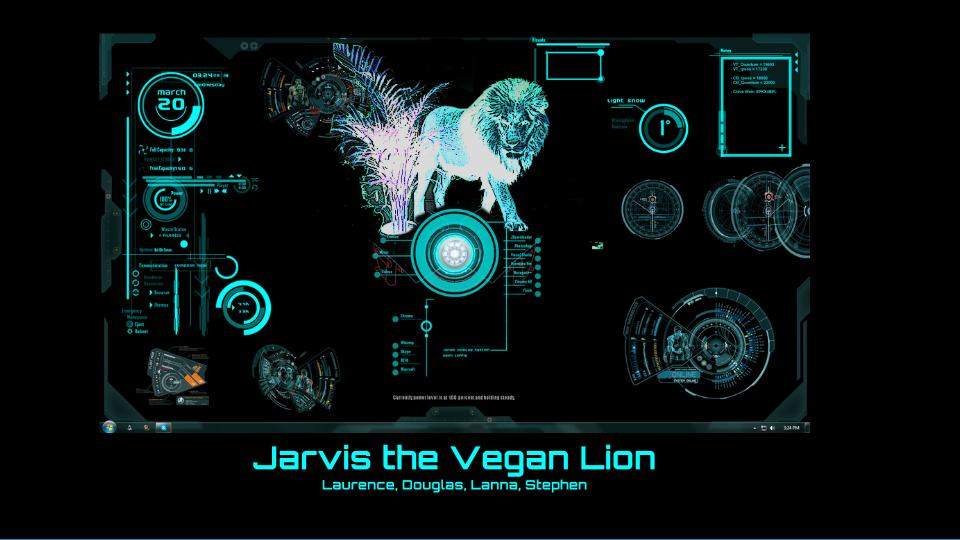 Jarvis, The Vegan Lion